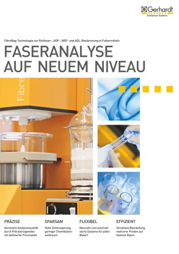 FIBRETHERM - Faseranalyse auf neuem Niveau