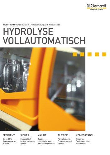 HYDROTHERM - Hydrolyse vollautomatisch