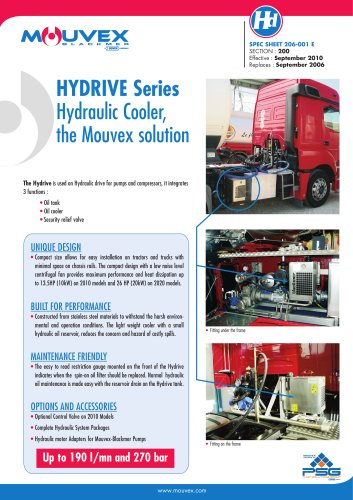 Hydraulic Cooler - Hydrive Series