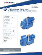 Typhon II Screw Compressor