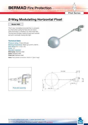 2-Way Modulating Horizontal Float Model #60