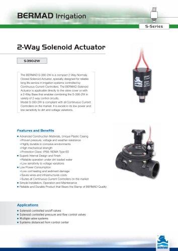 2 Way Solenoid Actuator Data Sheet