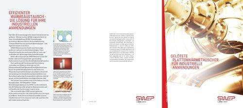 Gelötete plattenwärmetauscher für industrielle anwendungen