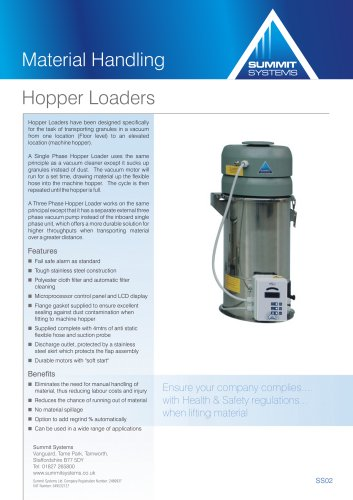 Vacuum Hopper Loaders