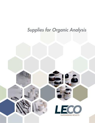 Organic Supplies – Catalog
