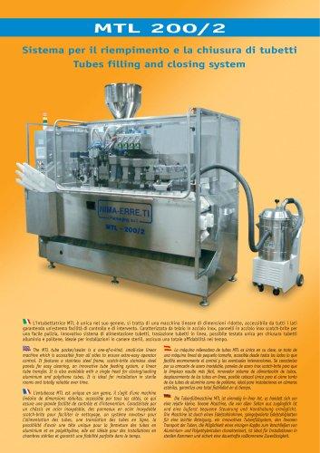 MTL-200/2 automatic tube filling machine
