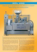 MTL-200 automatic tube filling machine