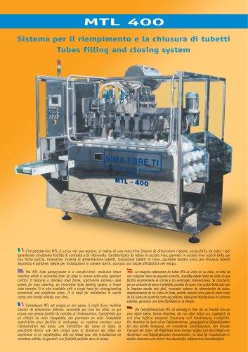 MTL-400 automatic tube filling machine