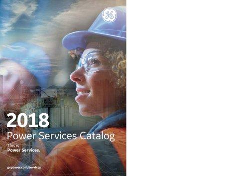 2018 Power Services Catalog