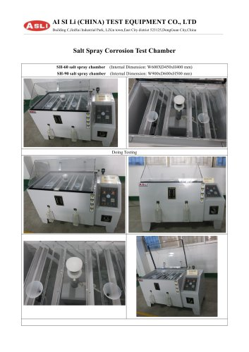 More about salt spray corrosion test chamber