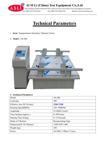 vibration test equipment / for solar cells / for photovoltaic modules / for printed circuits AS-300