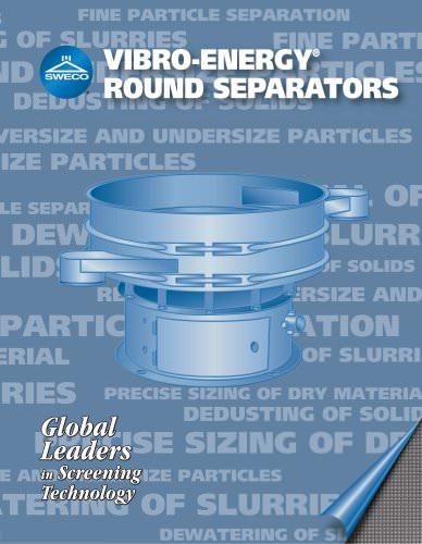 Sweco Round Separators