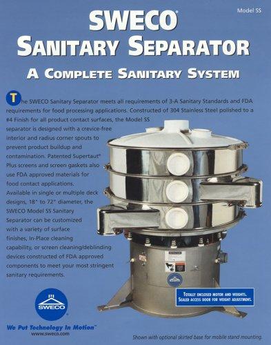Sweco Sanitary Separator