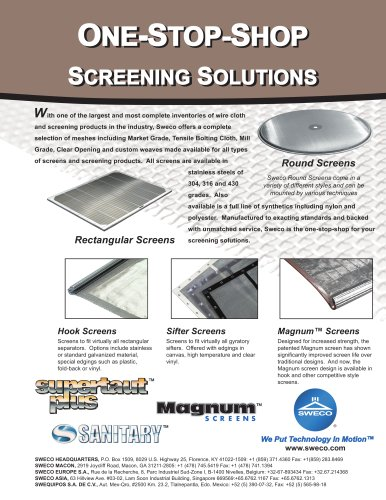 Sweco Screening Solutions