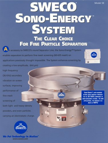 Sweco Sono-Energy System