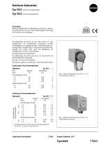 Elektrische Stellantriebe Typ 5821 Typ 5822