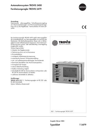 Fernheizungsregler TROVIS 5479