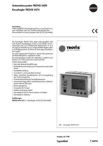 Kesselregler TROVIS 5474