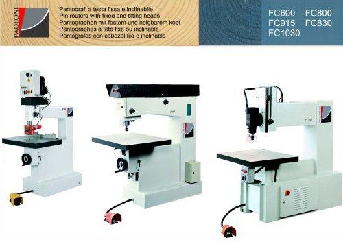 FC600 - FC800 - FC915 - FC830 - FC1030