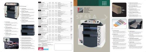 SP53N - SP63N - SP63A