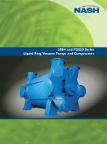 NASH 2BE4 and P2620 - Liquid Ring Vacuum Pumps and Compressors