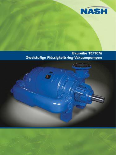NASH TC/TCM - Zweistufige Flüssigkeitsring-Vakuumpumpen