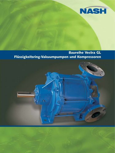 NASH Vectra GL - Flüssigkeitsring-Vakuumpumpen und Kompressoren