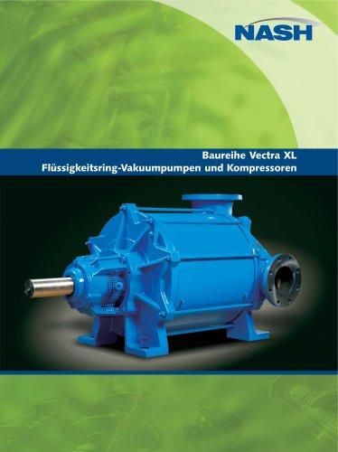 NASH Vectra XL - Flüssigkeitsring-Vakuumpumpen und Kompressoren
