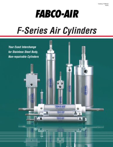 """F"" Series Cylinder Catalog"