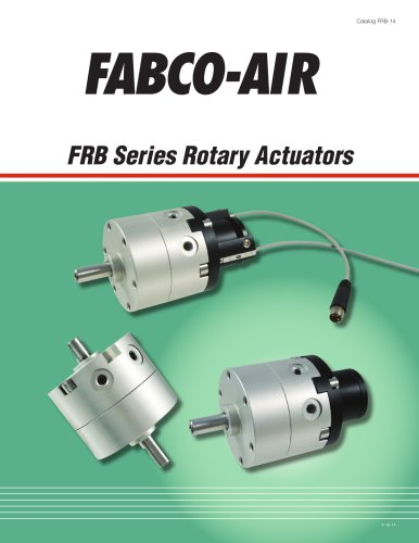 FRB Series Rotary Actuators