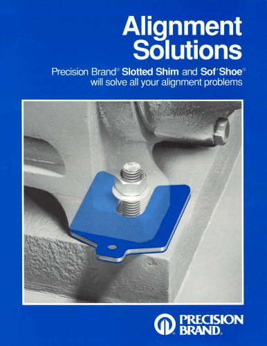 Precision Brand® Slotted Shim and Sof' Shoe