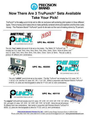 TruPunch® Punch & Die Sets