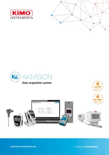 AKIVISION Data acquisition system