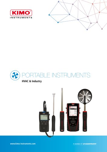 PORTABLE INSTRUMENTS HVAC & Industry