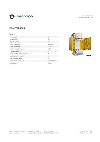 PCM20R 4365