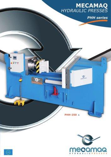 PHH series Hydraulic presses