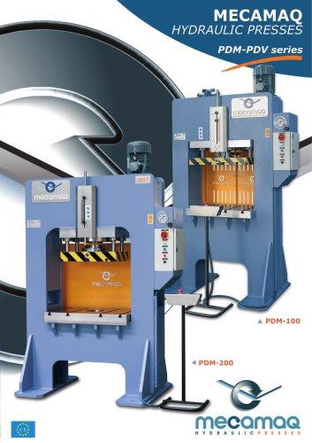 Production presses PDM - PDV series