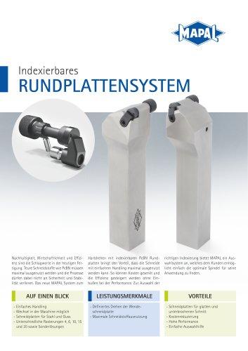 Indexierbares Rundplattensystem