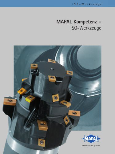 MAPAL Kompetenz ISO-Werkzeuge
