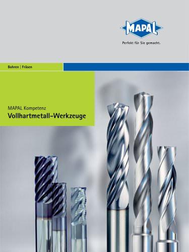 MAPAL Kompetenz VHM-Werkzeuge