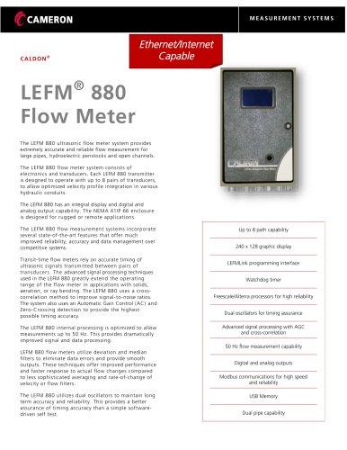 LEFM® 880 Flow Meter