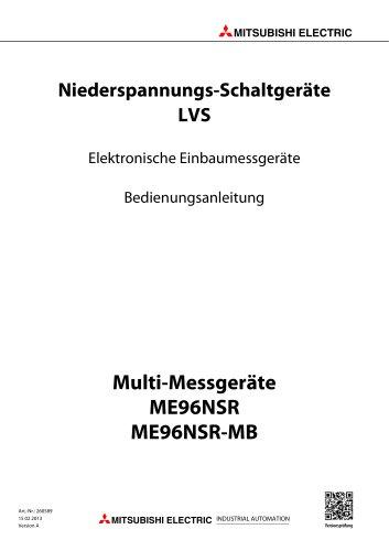 Elektronisches Multi-Messgerät - ME96