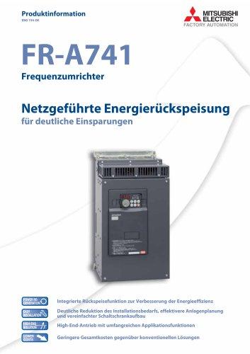 Frequenzumrichter - FR-A741