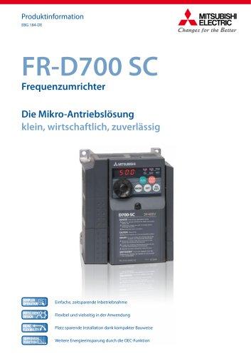 Frequenzumrichter - FR-D700