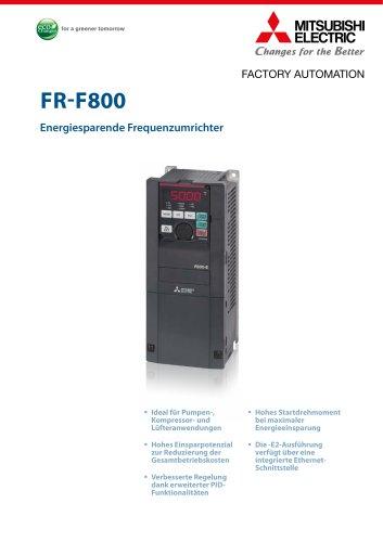 Frequenzumrichter - FR-F800