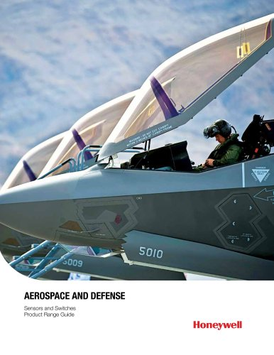 Honeywell Switches and Sensors for Aerospace/Defense Applications