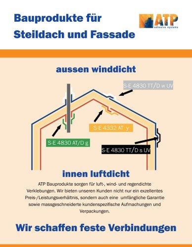 ATP Klebebänder für Bauanwendungen