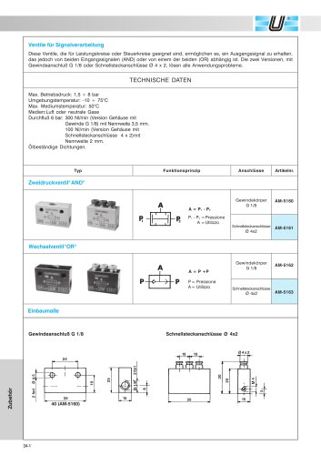AM-51_Ventile für Signalverarbeitung
