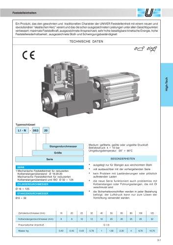 L1/L6_Feststelleinheiten für Zylinder