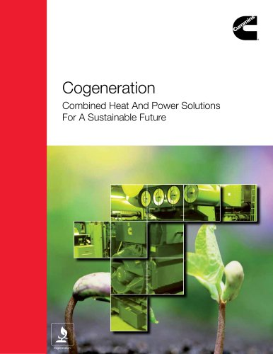 Cogeneration Combined Heat And Power Solutions  For A Sustainable Future